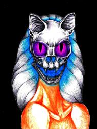 Demonic Cat Woman