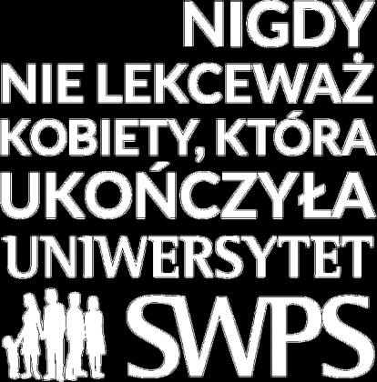 UKOŃCZYŁA SWPS - koszulka damska