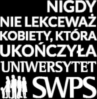 UKOŃCZYŁA SWPS - bluza damska