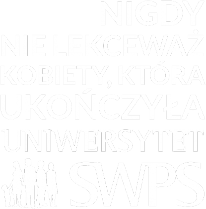 UKOŃCZYŁA SWPS - torba