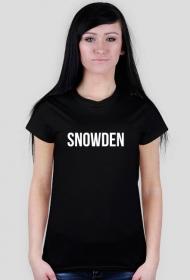 SNOWDEN TSHIRT LADY BLACK