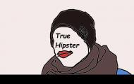 Damski T-shirt True Hipster