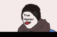 Biały Kubek True Hipster