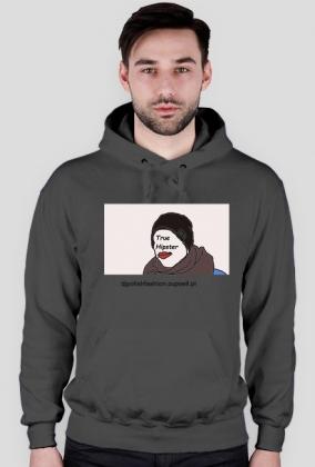 Bluza z Kapturem Męska True Hipster