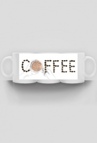 Coffee - kubek jak rysowany