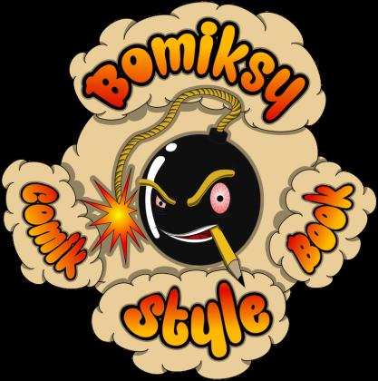 Bomiksy Comik Book Style