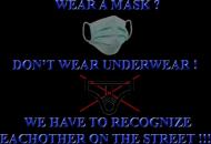 wear a mask - koszulka damska