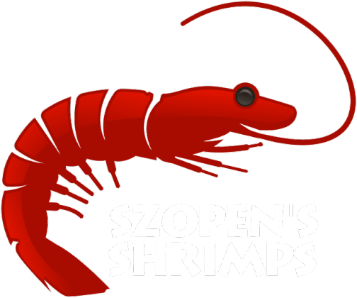 T-Shirt Szopen's Shrimps Black