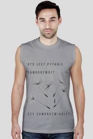 """Koszulka bez rękawów """"Samorozwianie"""""""