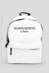"Plecak ""Shawn Mendes is here."""