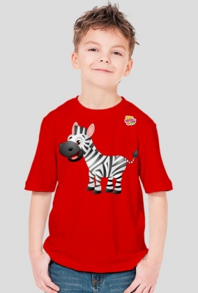 Zebra - koszulka dla dzieci