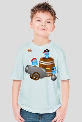 Piraci - koszulka dla dzieci