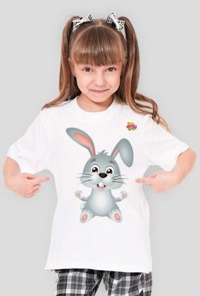 Króliczek - koszulka dla dzieci