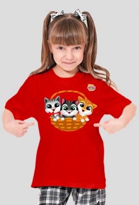 Kotki - koszulka dla dzieci