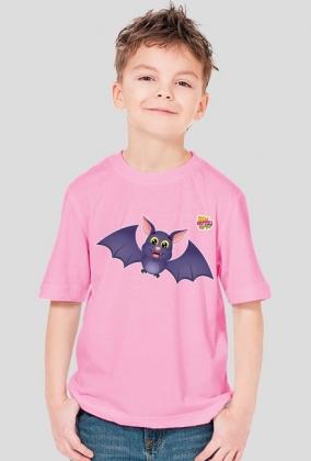 Nietoperz - koszulka dla dzieci