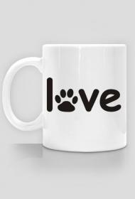 FrikSzop Love Dogs kocham psy kubek