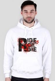 FrikSzop Ride or Die Bluza biała