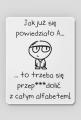 FrikSzop Alfabetowa podkładka