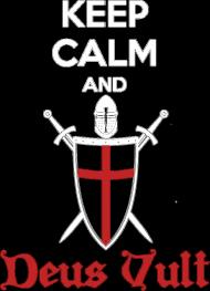 Deus Vult - koszulka męska (men's t-shirt)