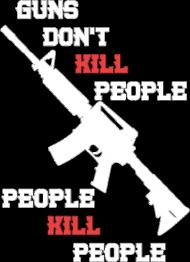 Guns - koszulka męska (men's t-shirt)