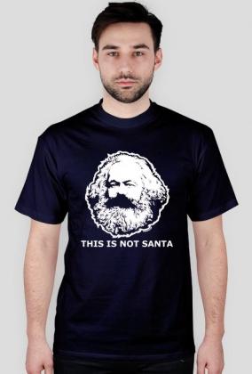 Santa Marx - koszulka męska (men's t-shirt)