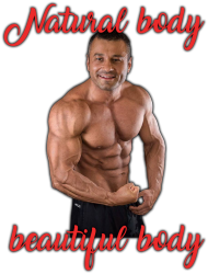 Koszulka Natural body Beautiful body