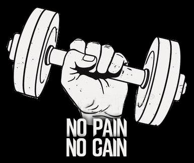 kubek NO PAIN NO GAIN