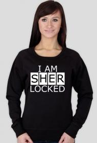 I am sher locked - bluza damska