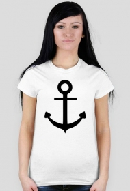 Kotwica - koszulka damska