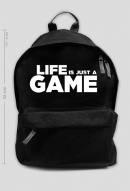 Life is just a GAME - duży plecak