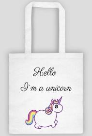 Hello I`m a unicorn EKO TORBA