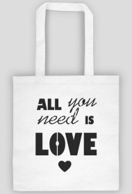 All you need is love - eco torba