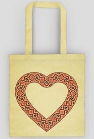 Heart - eco torba