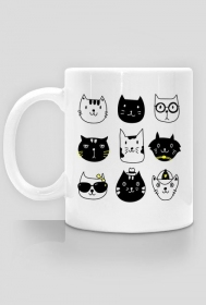 Cats - kubek