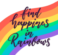 Rainbow LGBT - kubek tęcza