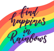 Tęczowa koszulka damska - LGBT