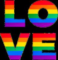 LOVE - koszulka męska LGBT
