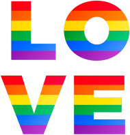 LOVE - koszulka damska LGBT