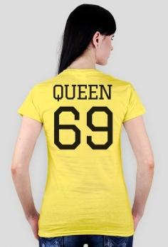 QUEEN 69 - koszulka damska