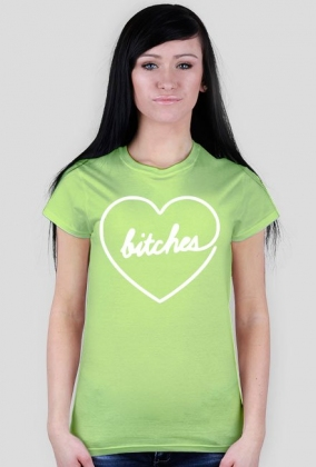 Bitches - Best Friends - koszulka damska