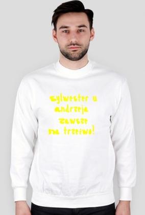 Bluza na sylwestra u Andrzeja.