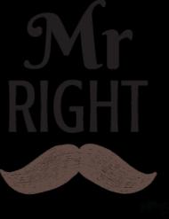 T-shirt Męski - Mr Right