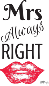 Kubek - Mrs Always Right
