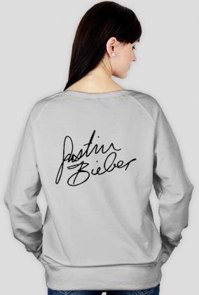 Justin Bieber autograf bluza