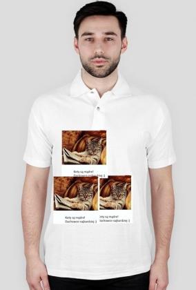 Koszulka Mądry kot!