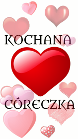 KOCHANA CÓRECZKA