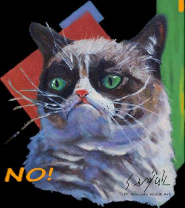 GRAMPY CAT - NO!