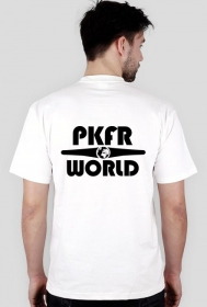 PKFR.WORLD T-shirt (Black logo on 2 sides)