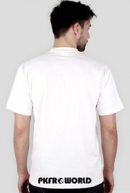PKFR.WORLD T-shirt (Black logo on 2 sides)