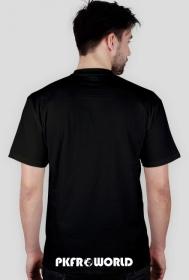 PKFR.WORLD T-shirt (White logo on 2 sides)